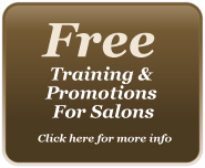 Free Training Promotions for Salons